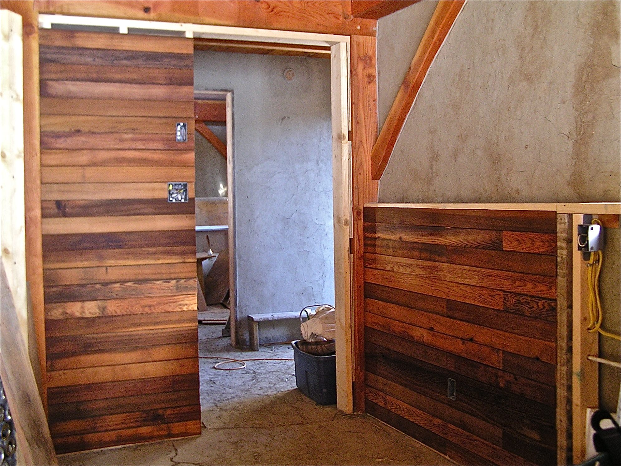 our strawbale home