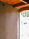 interior wall plastered