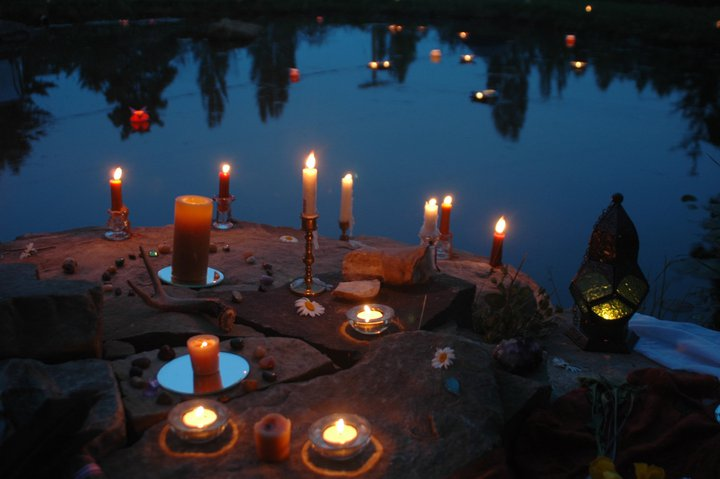 Summer Solstice Celebration Inspirational Village