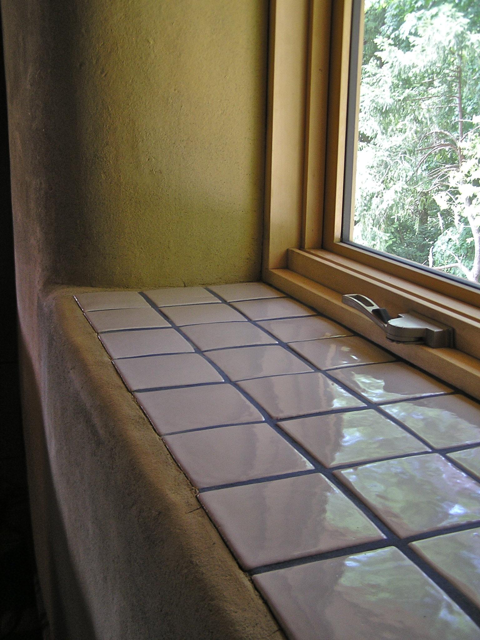 Kitchen Window Sill Tiles