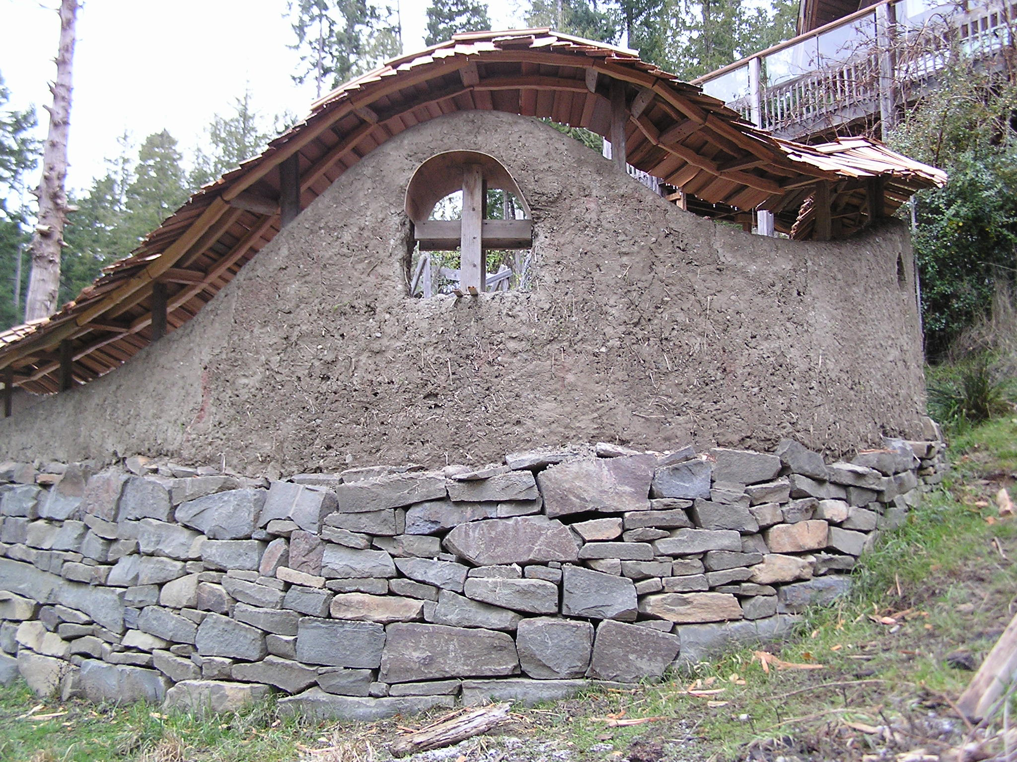 Load bearing cob inspirational village for Building a stone house