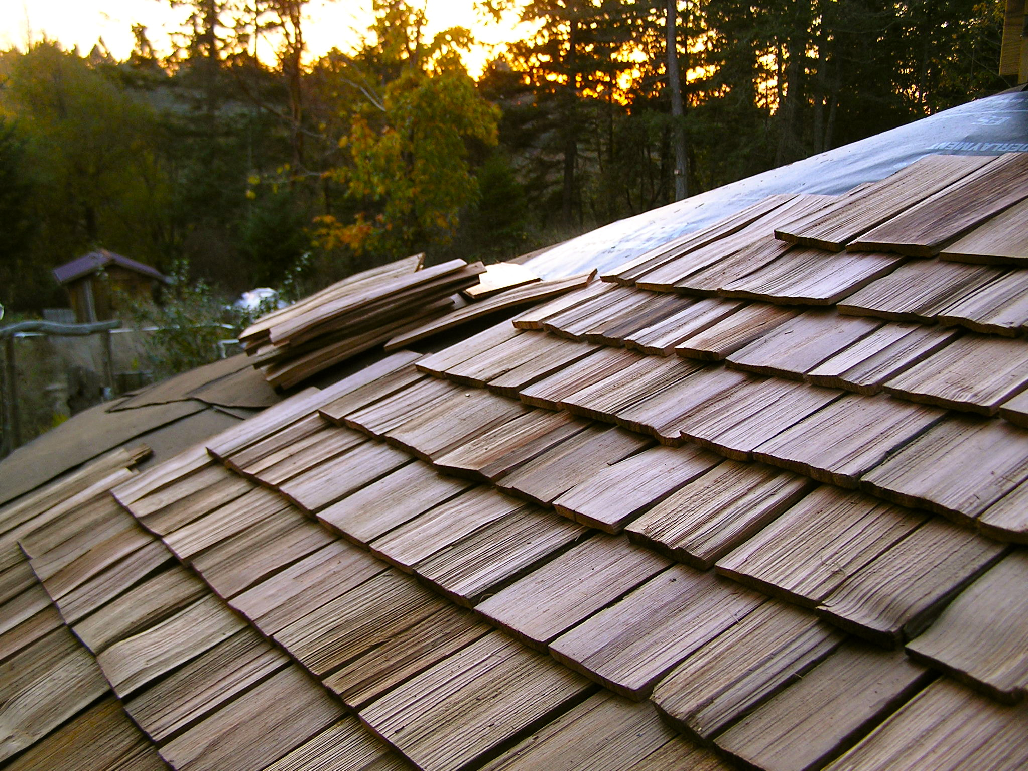 Hand Split Cedar Roof Shakes Inspirational Village