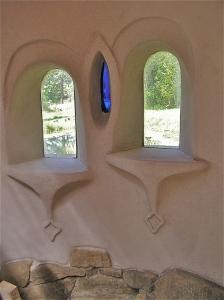 final plastered windows