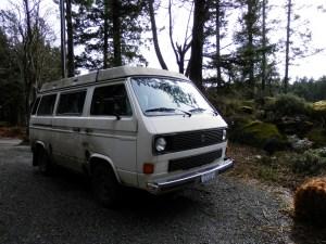 our veggie van