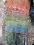 saori weaving details